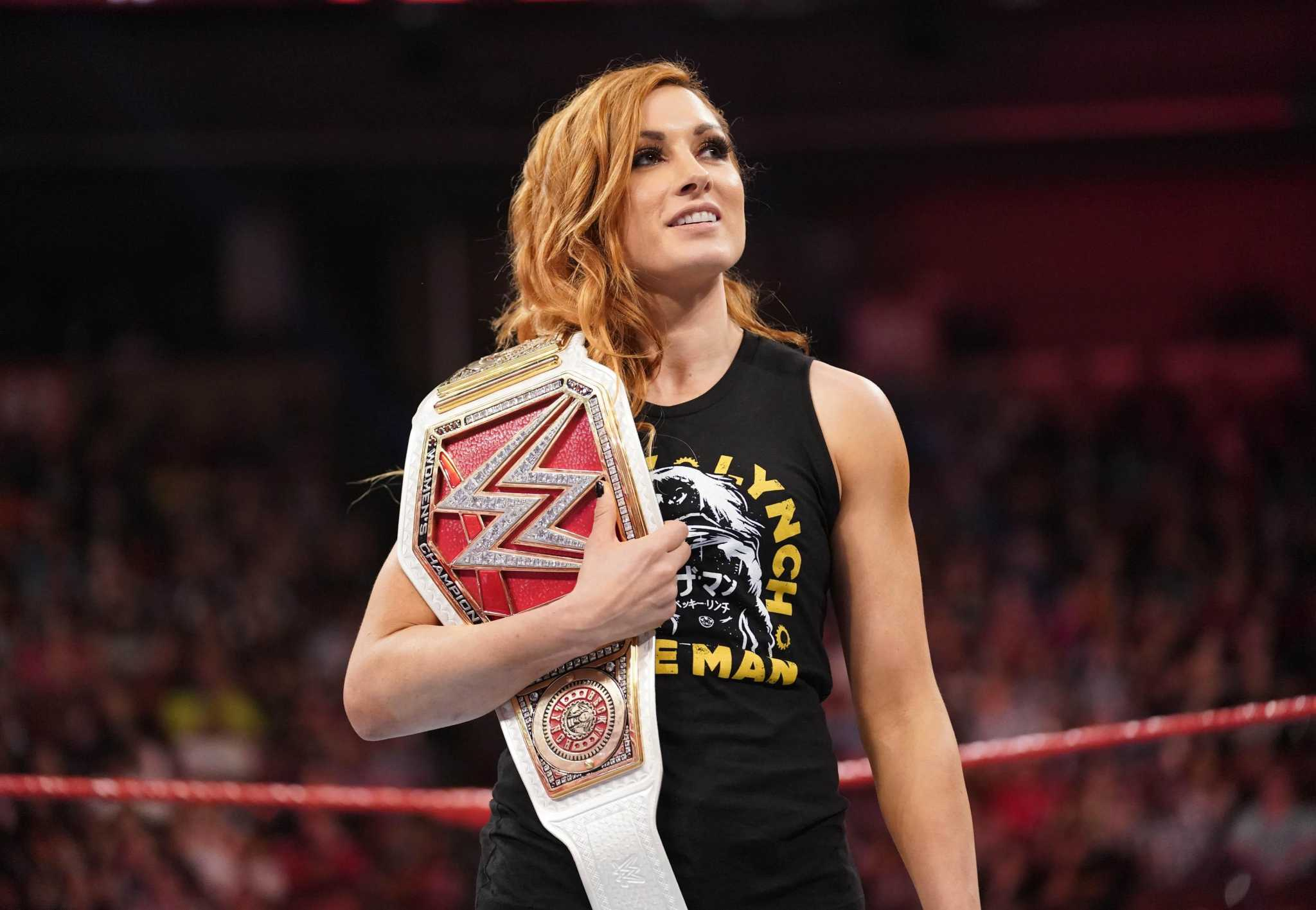 Wwe Star Becky Lynch Slams Into San Antonio For Celebrity