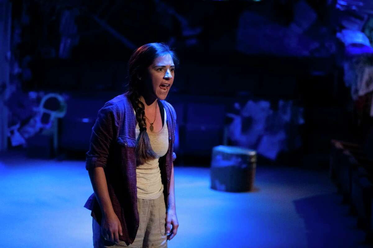 """Alyx Gozales starred in """"Sink, Florida, Sink,"""" the first offering produced through The Public Theater of San Antonio's Fresh Ink program designed to nurture the creation of new work."""