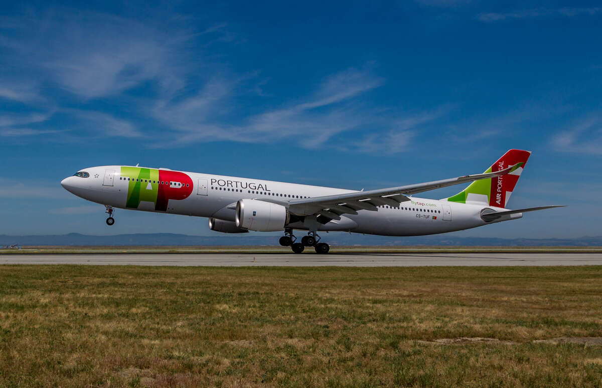 TAP is due to return to San Francisco International this fall. Pictured: A brand new TAP Air Portugal Airbus A330neo lands at SFO on Monday, June 10 for an inaugural celebration.
