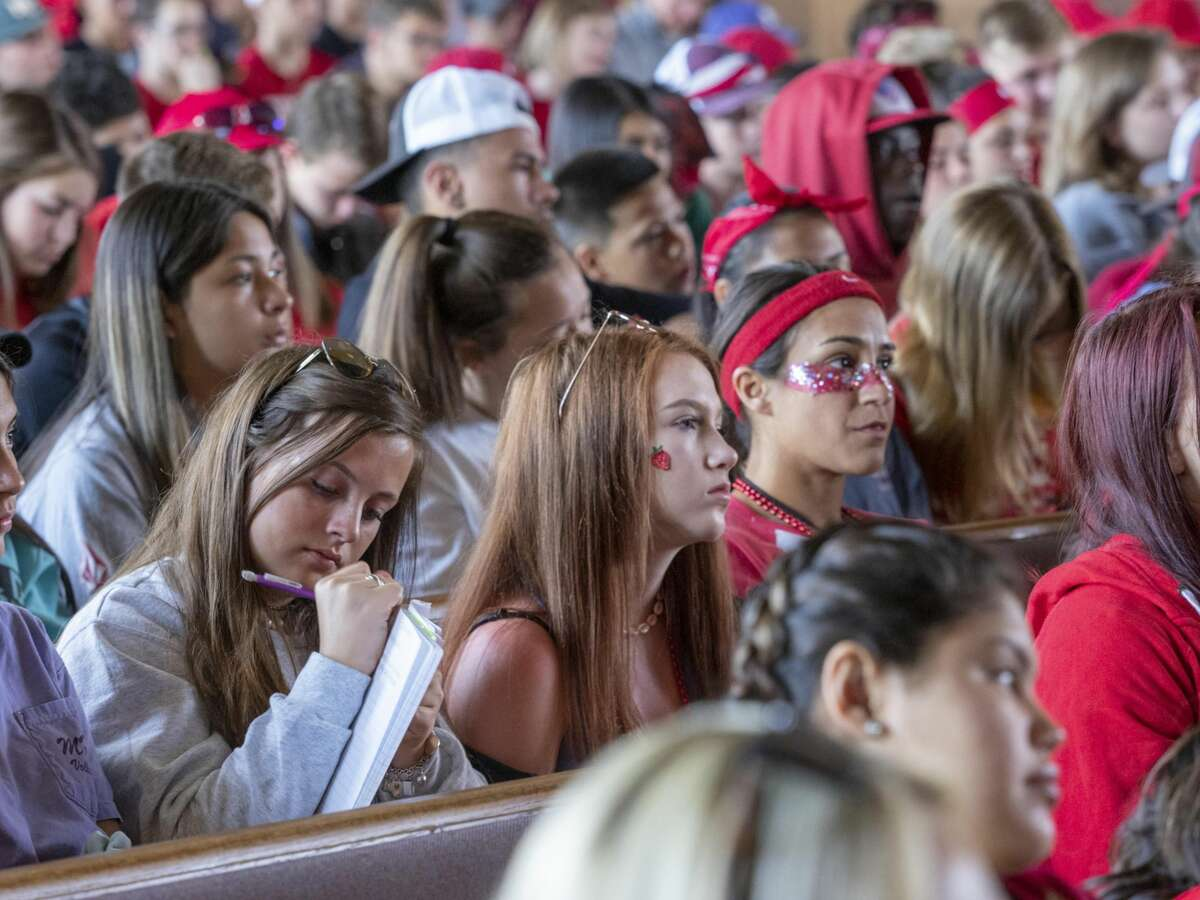 Students take notes during teaching time at SGY 2019 Camp in Glorieta, NM. Photos courtesy of Stonegate Fellowship