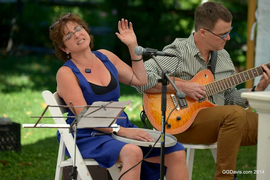 The Kent Art Association is hosting two free performances as part of Make Music Day on June 21 at the KAA Gallery, including one by the Carol and Nick Duo, featuring Carol Leven on vocals and percussion, and Nick Moran on seven-string guitar. Photo: GGDavis.com 2014 / Contributed Photo
