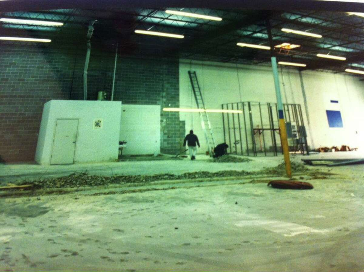 1994: Prepping the warehouse that housed the original brewery at 2522 Fairway Park Drive.