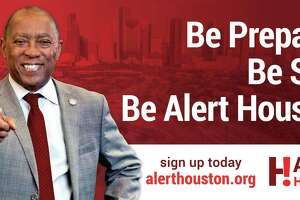 The Alert Houston billboard the prompted mayoral candidate Tony Buzbee's lawsuit.