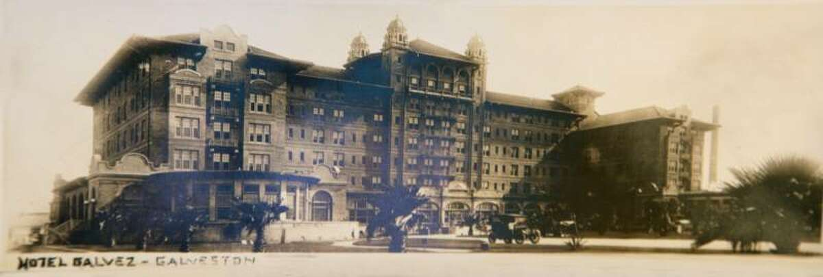 Hotel Galvez & Spa in Galveston A bride reportedly hung herself in the west turret in the mid-1900s, according to Galveston.com. Her spirit haunts Room 501 and the west turret.