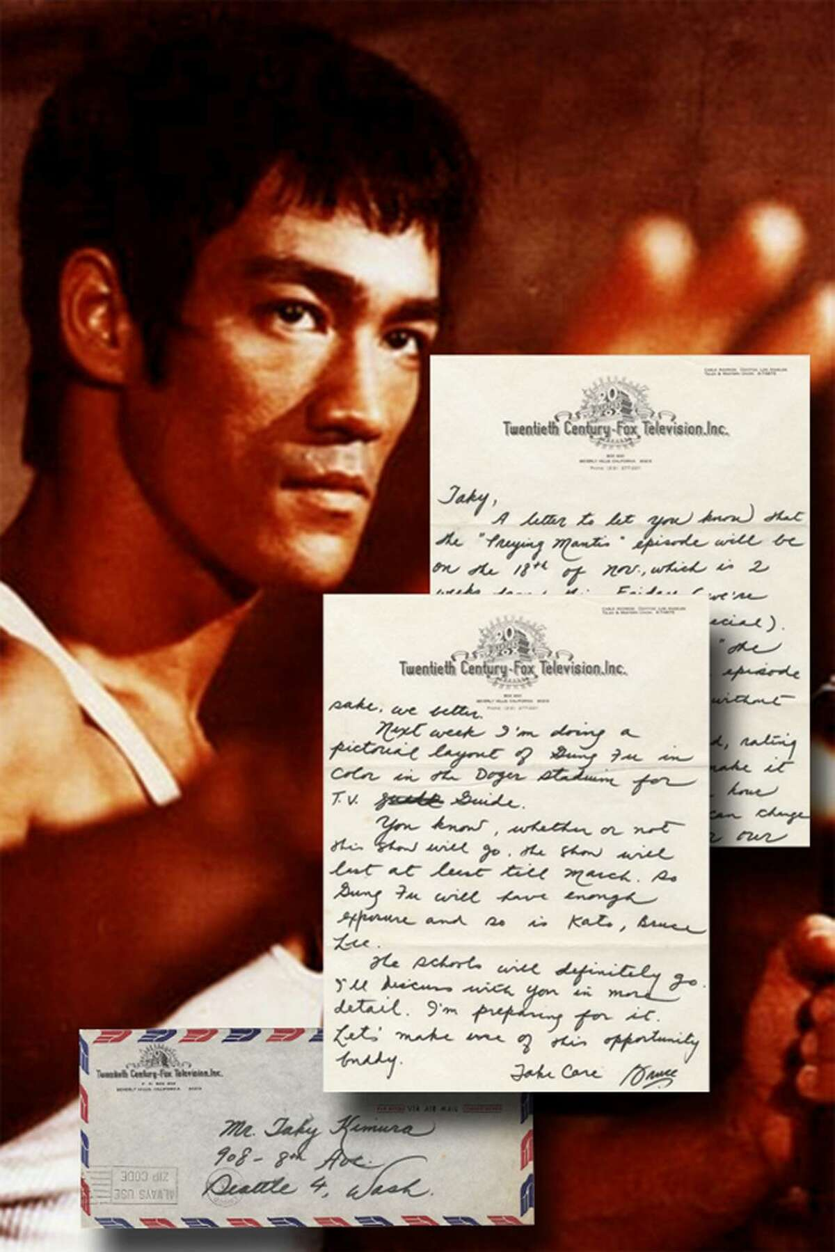A letter written and signed by martial artist Bruce Lee will be amongst the many historical items available at the online-only auction for University Archives.