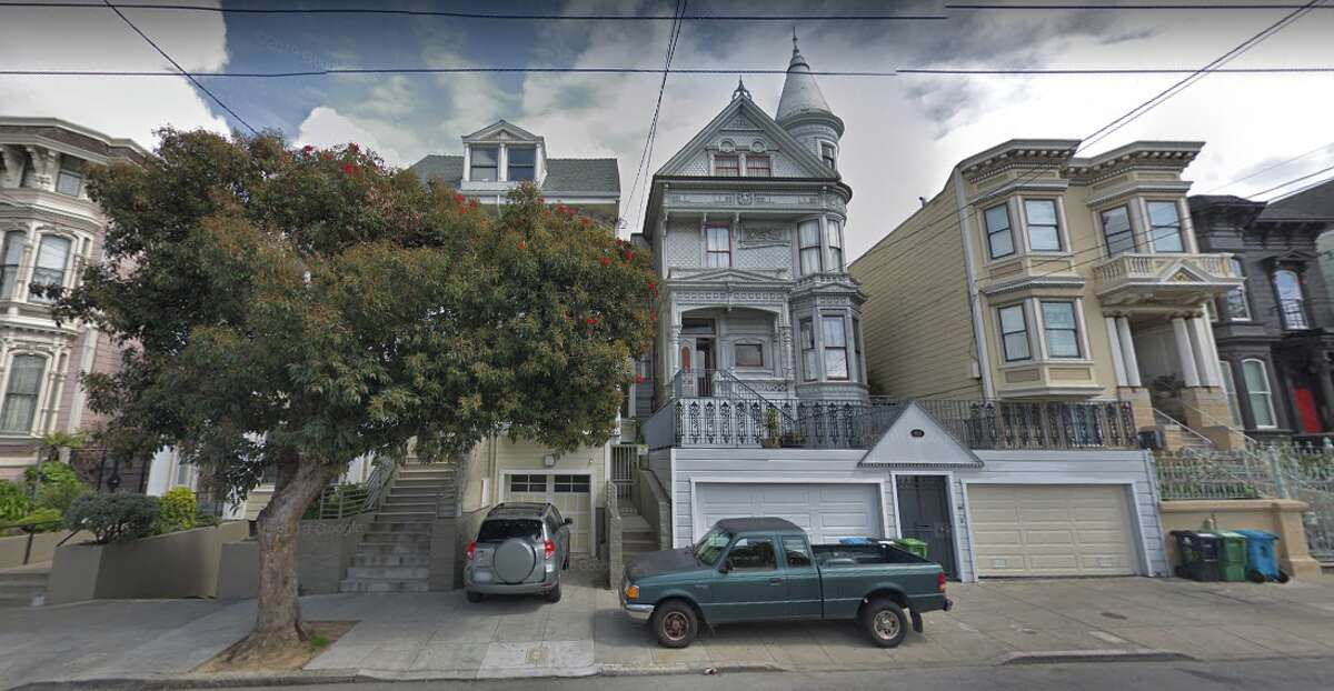 The house stands in the Fillmore District and you can check it out for yourself. Look out for the