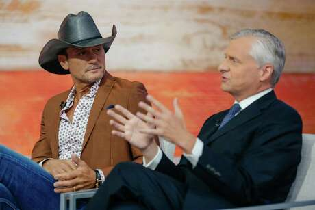 "Tim McGraw and Jon Meacham talk about their collaboration on ""Today."""