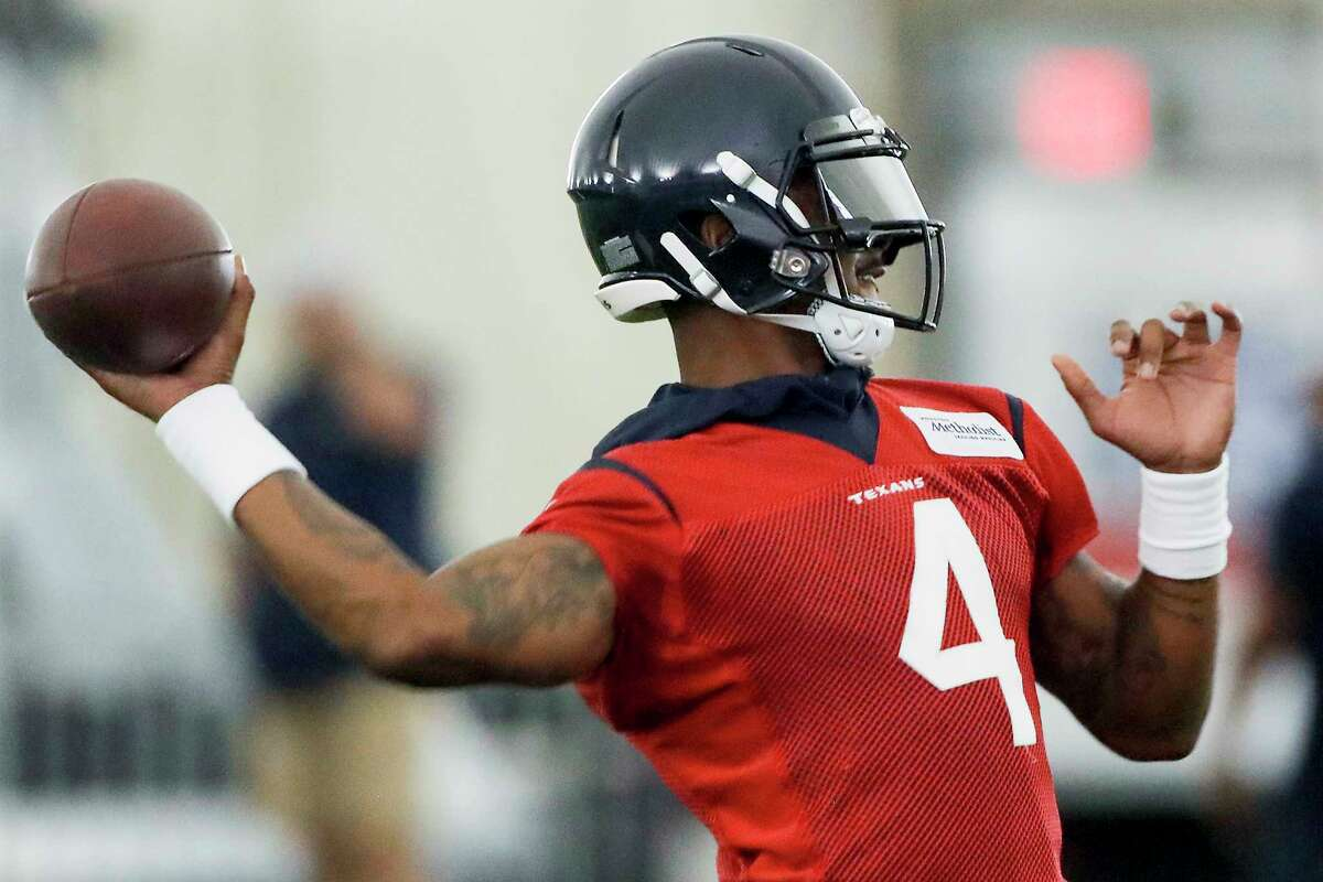 The right arm of Deshaun Watson can answer many of the Texans questions heading