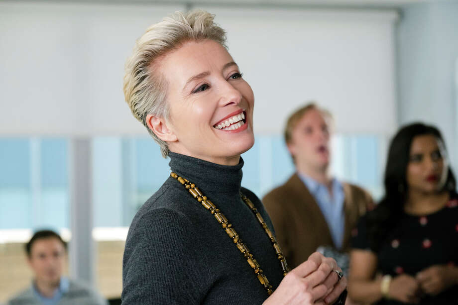 "Emma Thompson plays an acerbic TV talk-show host who is about to be replaced after 28 years in ""Late Night."" Photo: Emily Aragones, Amazon Studios / Amazon Studios"