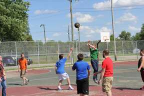 The Huron County Families Against Narcotics chapter hosted a basketball game and barbecue at Bad Axe City Park on Tuesday. FAN speakers spoke about the group's mission after the game.