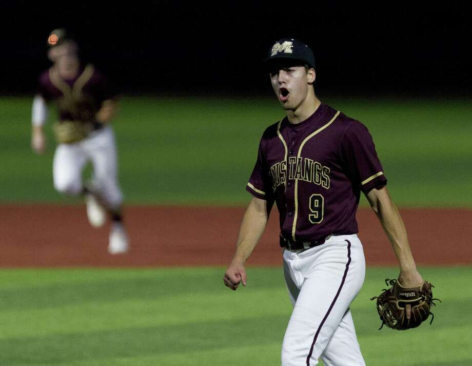 Magnolia West starting pitcher Connor Phillips, shown here in May, was selected Most Valuable Player of District 19-5A. Photo: Jason Fochtman, Houston Chronicle / Staff Photographer / © 2019 Houston Chronicle