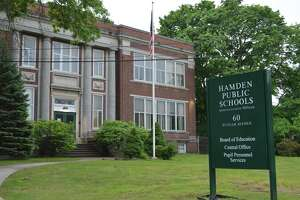 Hamden Board of Education administrative offices at 60 Putnam Ave.