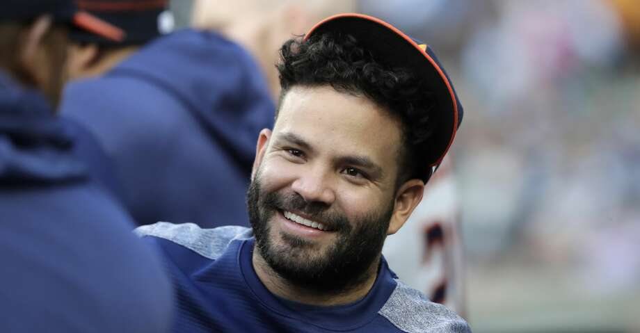 PHOTOS: Astros game-by-game Houston Astros' Jose Altuve smiles in the dugout before a baseball game against the Seattle Mariners Wednesday, June 5, 2019, in Seattle. (AP Photo/Elaine Thompson) Browse through the photos to see how the Astros have fared in each game this season. Photo: Elaine Thompson/Associated Press
