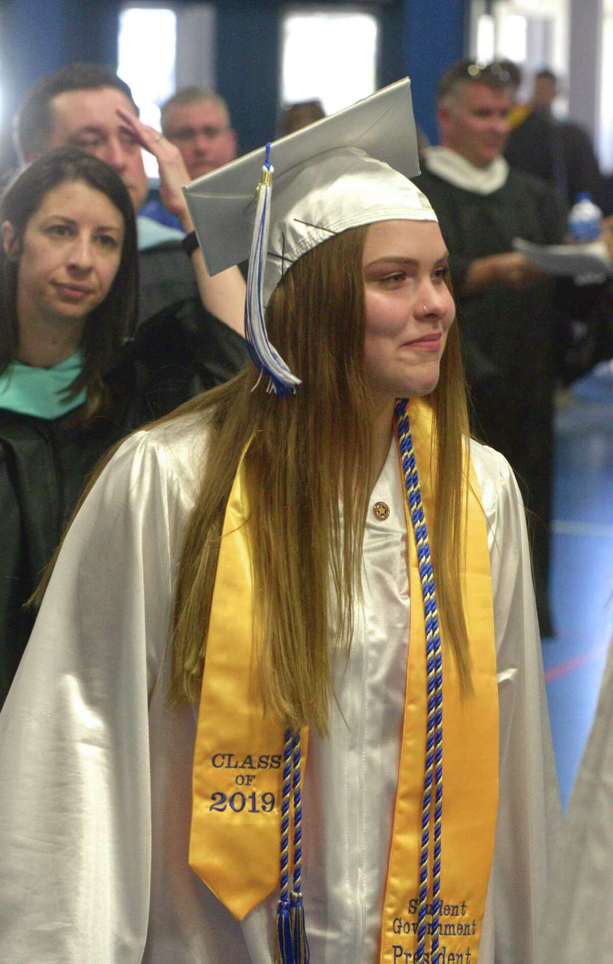 2019 Commencement Exercises of Newtown High School. June 11, 2019, at the O'Neill Center of Western Connecticut State University, Danbury, Conn.