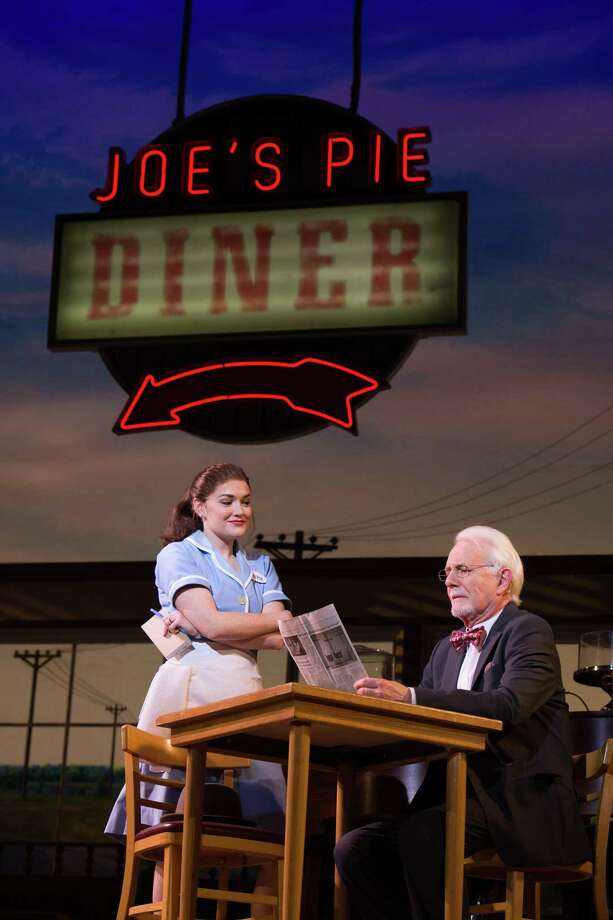 "Christine Dwyer and Richard Kline in ""Waitress,"" running at the Bushnell. Photo: Anita Dloniak / Contributed Photo"
