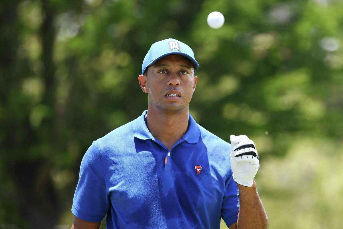 """""""It's not the same body I had"""" in 2000, Tiger Woods says of when he ruled Pebble Beach."""