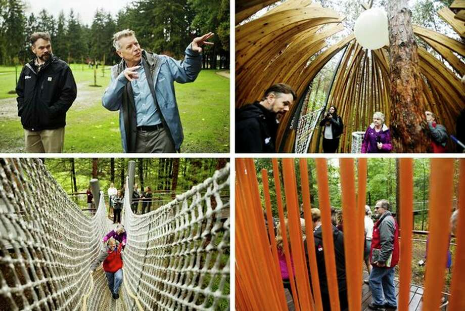 Alan Metcalfe, architect of the Whiting Forest of Dow Gardens Canopy Walk, will give two talks on Saturday as part of the Matrix:Midland festival. See his favorite spots by clicking through this gallery.