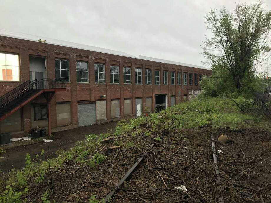 Upstairs from the 600 self-storage units built by U Haul at its 1175 State St. site, a local couple and their neighbor want to convert a portion of the large second floor for a pet boarding facility they are calling Paw Haven. Photo: Contributed