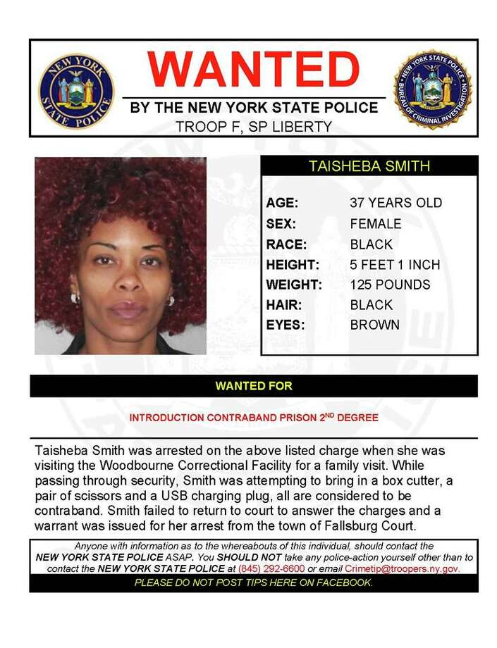 Taisheba Smith Photo: New York State Police