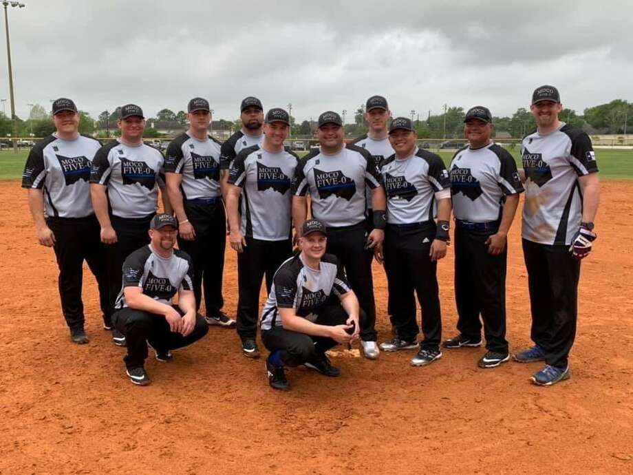 MOCO Five-0 Law Enforcement Softball Team consisting of Offiicers in Montgomery County. Officers from multiple agencies including Montgomery County Sheriff's Office, Pct. 3 Constable's Office, Pct. 4 Constable's Office, Texas Department of Public Safety, Shenandoah Police Department, Oak Ridge Police Department. 2018 Inaugural Law Enforcement Appreciation Banquet. Photo: Submitted Photo / Submitted Photo