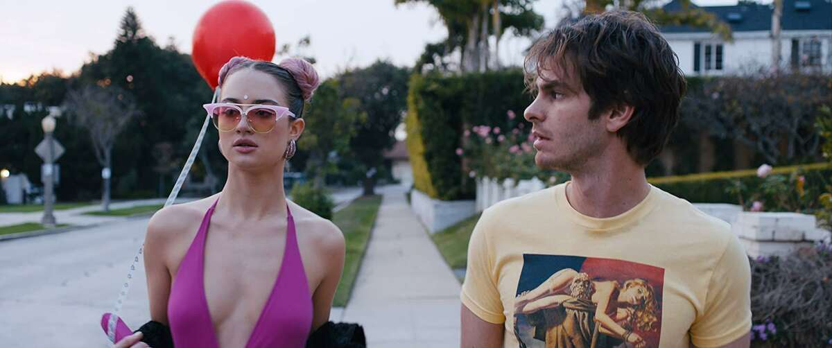Grace Van Patten and Andrew Garfield in 'Under the Silver Lake,' directed by David Robert Mitchell who made 'It Follows'