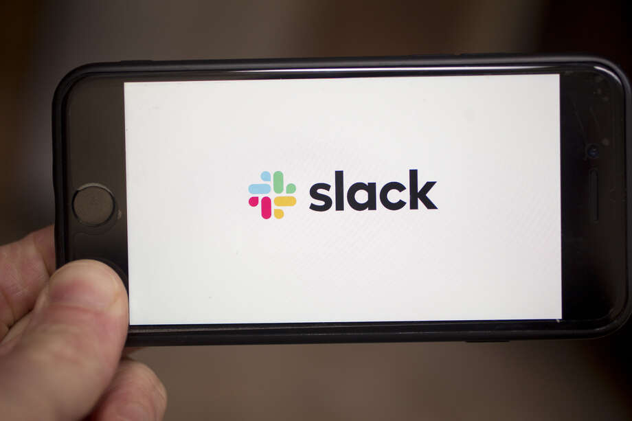 Slack is planning to have its shares start trading June 20 on the New York Stock Exchange under the ticker WORK. Photo: Bloomberg Photo By Andrew Harrer / Bloomberg