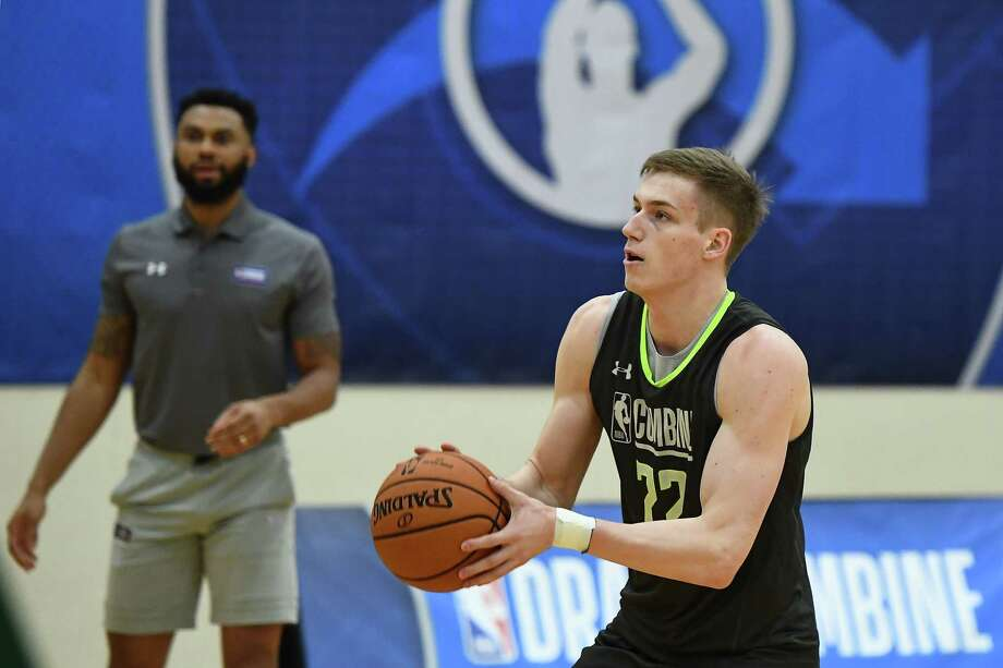 CHICAGO, ILLINOIS - MAY 16: Luka Samanic #72 participates in workouts during Day One of the NBA Draft Combine at Quest MultiSport Complex on May 16, 2019 in Chicago, Illinois.  Photo: Stacy Revere, Getty Images / 2019 Getty Images