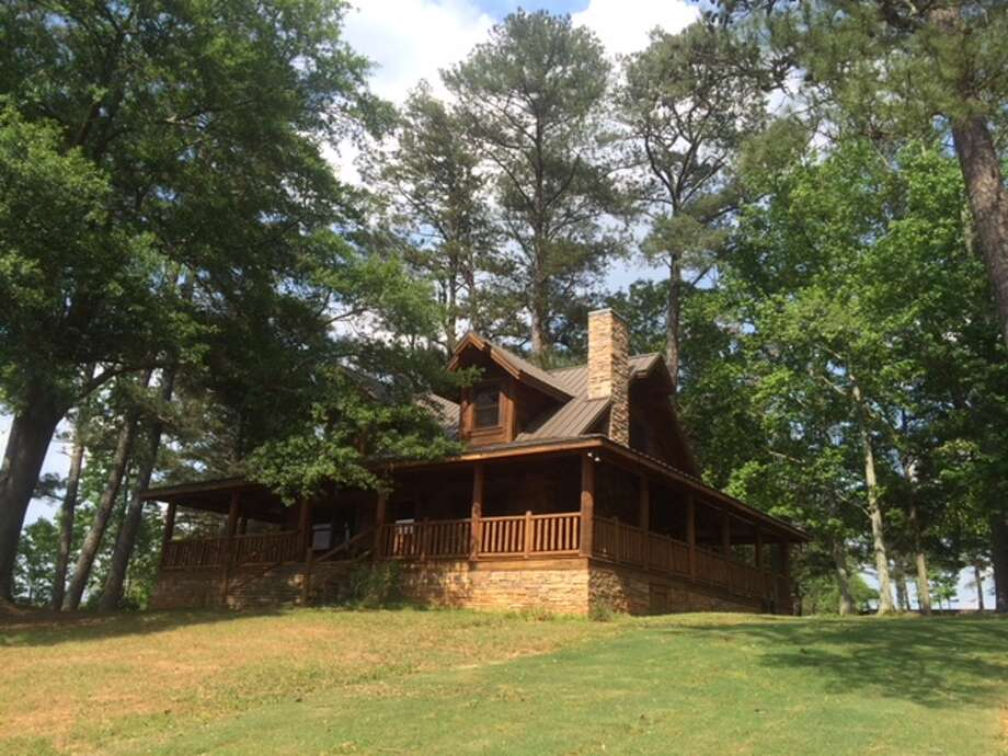 "It's now an option to rent the woodland cabin in which Tony Stark (Robert Downey Jr.) and his family live in ""Avengers: Endgame.""  Photo: Courtesy Of Airbnb"