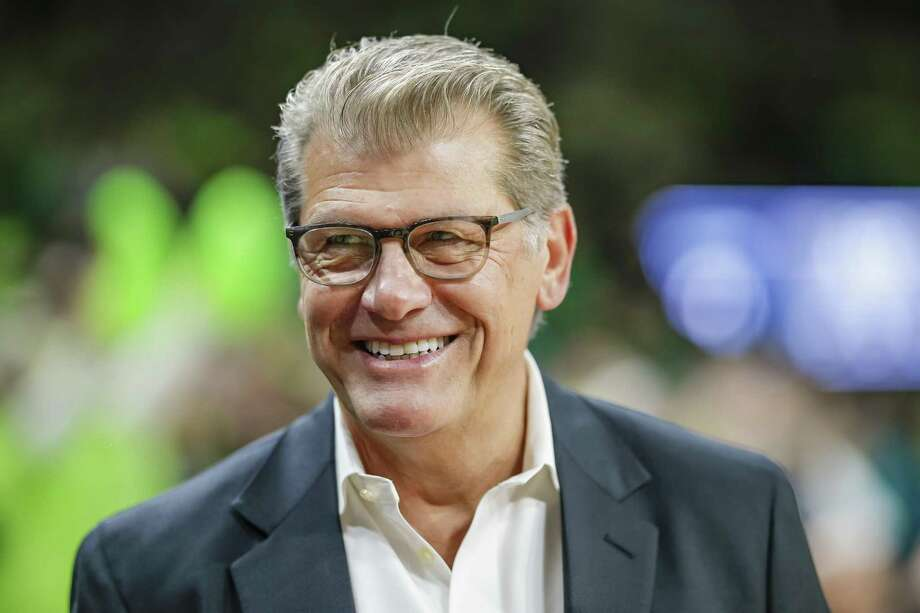 The 2019 Geno Auriemma UConn Leadership Conference is set to be held Oct. 2-3, 2019 in Stamford, Conn. Auriemma, the 11-time national-championship winning coach of the UConn women's basketball team, is scheduled to speak at the conference. Photo: Michael Hickey / Getty Images / 2018 Michael Hickey 2018 Michael Hickey