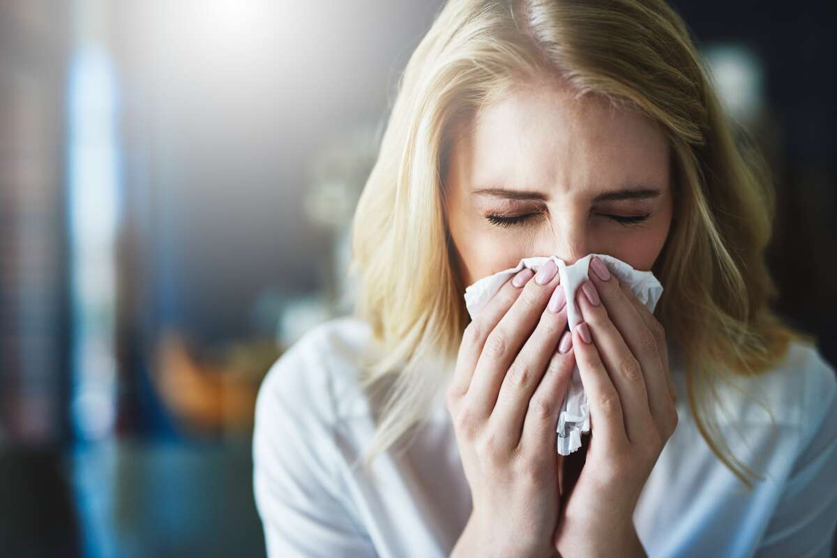 Auerbach said allergy sufferers might experience some loss of taste and smell - a common COVID-19 symptom - due to nasal congestion, but it isn't as pronounced as with COVID-19. Buller said if people have symptoms that could be either allergies or COVID-19, their best course of action is listening to their bodies.