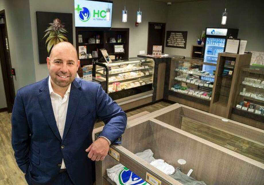 Chris Stone, CEO of Springfield and Collinsville medical cannabis dispensary HCI Alternatives. Photo: Photo Courtesy Of HCI