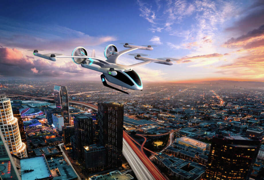 PHOTOS: Uber Air will roll out in 2023 in select cities including Los Angeles, California, Melbourne, Australia and Dallas, according to a June release from the company. 