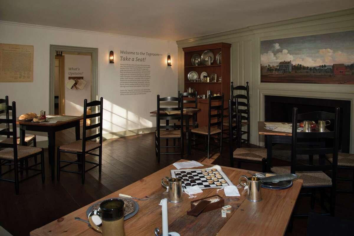 Interior of the Sun Tavern