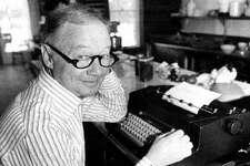 New York Times food writer Craig Claiborne in 1981