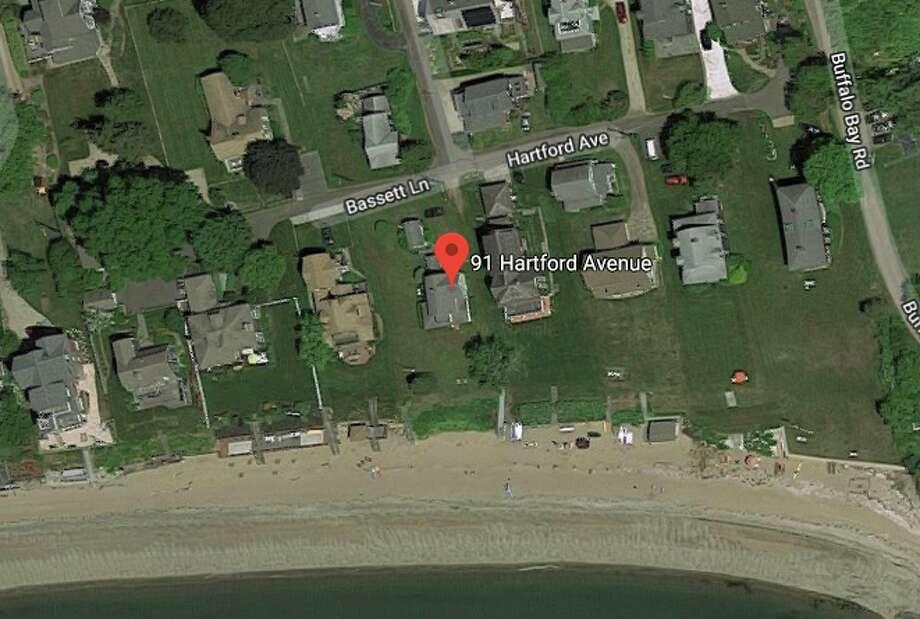 91 Hartford Ave. Seller/buyer: Barbara J. Carbone and Gail A. Iraester to Ellen Gottesdiener RET and Gottesdiener Ellen  Price: $1,200,000 Photo: Google Maps