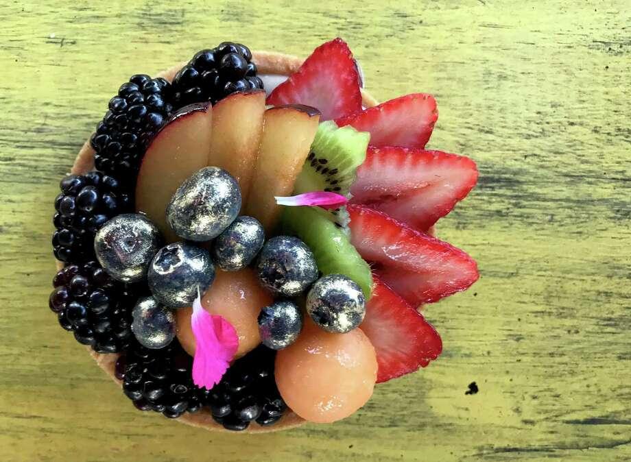 A fruit tart from Sweet Nebula Photo: Paul Stephen / Staff