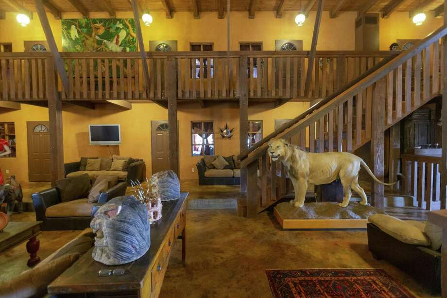 The lodge at the Trois Estate in Fredericksburg. Photo: William Luther /Staff Photographer / ©2019 San Antonio Express-News