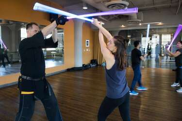 There's a lightsaber combat academy in San Francisco  We