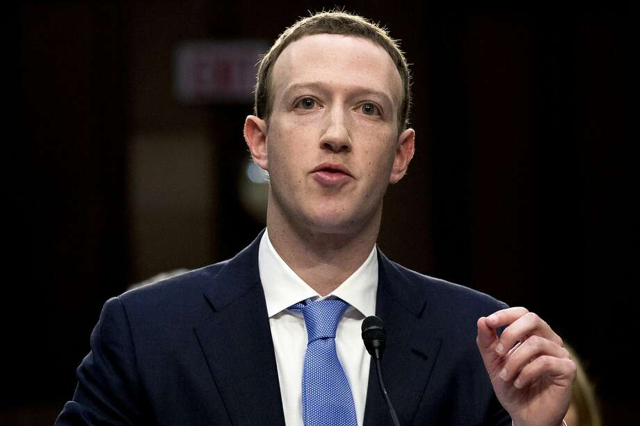 Facebook CEO Mark Zuckerberg is getting a taste of his own medicine. Photo: Andrew Harnik / Associated Press 2018