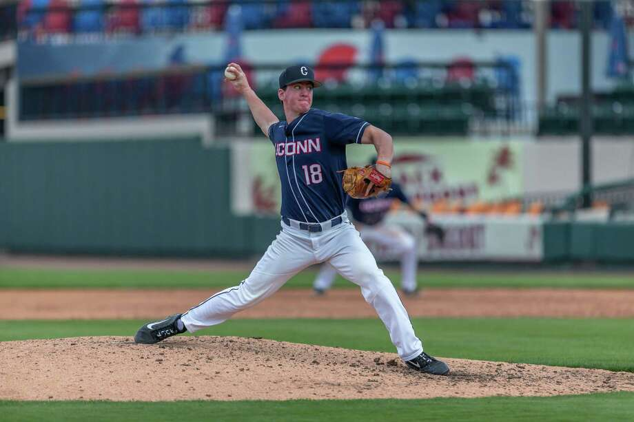 UConn pitcher Jacob Wallace Photo: UConn Athletics / Contributed Photo