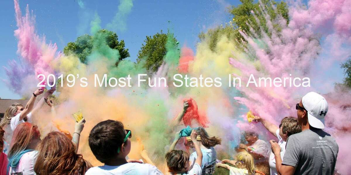 A handful of western states nabbed this year's top 10 funnest states in America. Did yours make the cut? Keep clicking to find out.
