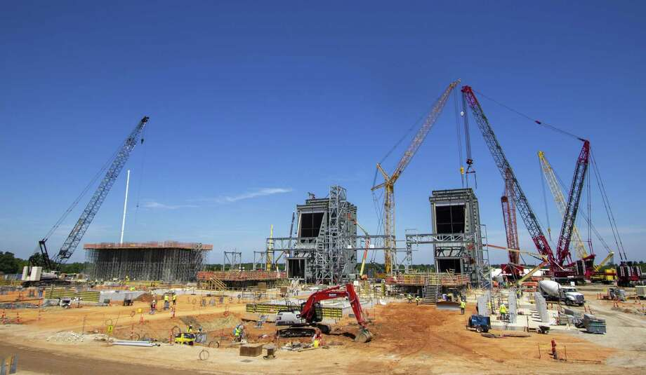 The Montgomery County Power Station construction site is seen Wednesday, June 12, 2019 in Willis. Photo: Cody Bahn, Houston Chronicle / Staff Photographer / © 2019 Houston Chronicle