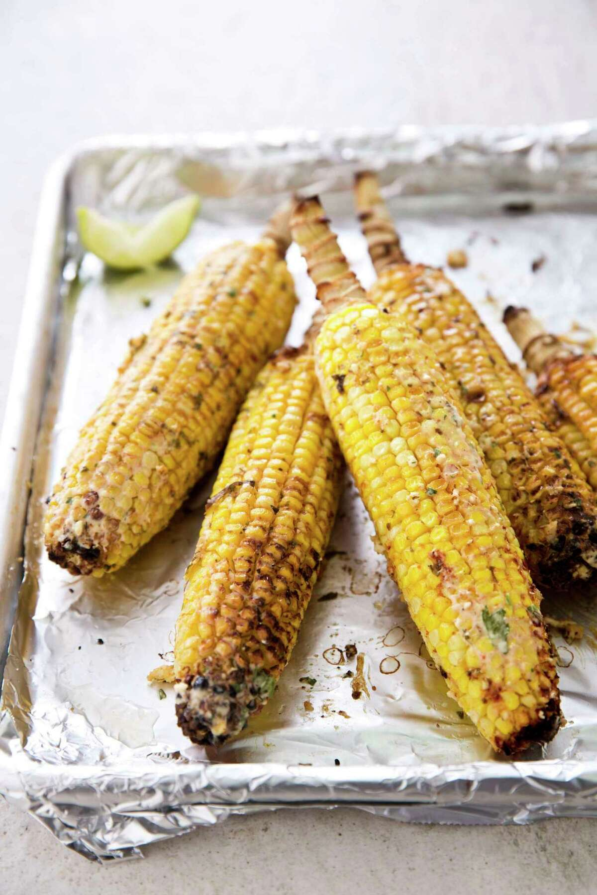 Mexican Street Corn. This recipe appears in the cookbook