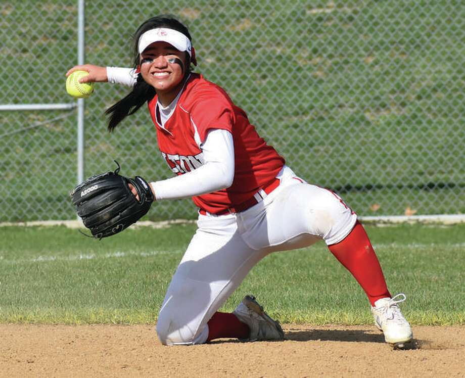 Alton shortstop Tami Wong was named to the Illinois Coaches Association Class 4A All-State Softball first team. Photo: Telegraph Photo