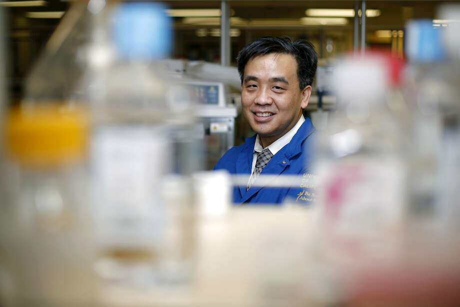 Dr. Charles Chiu stands in a lab at UCSF in San Francisco, California, on Tuesday, Jan. 26, 2016. Photo: Connor Radnovich / The Chronicle