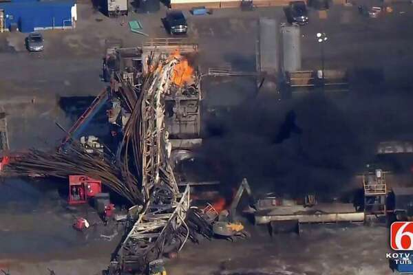 Report finds sweeping blame for fatal Oklahoma rig explosion