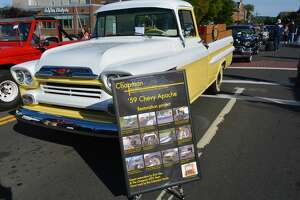 Bright, warm and pleasant conditions made Middletown's 22nd annual Car Cruise on Main a success  Wednesday, June 12, 2019, with hundreds of classic and vintage vehicles lining downtown and the South Green. There was music, plenty of food, dancing, a patriotic fashion show, and awards to the best roadsters in many categories. The Middlesex County Chamber of Commerce coordinates the event every year, with the help of the city and a number of sponsors.