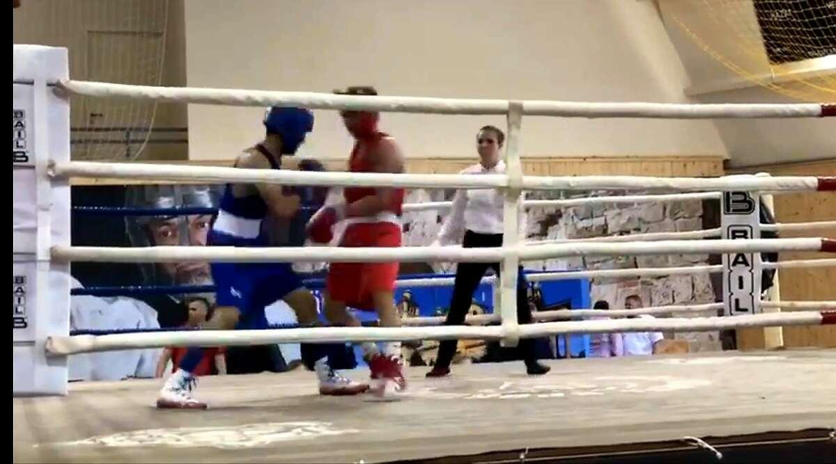 Emilio Garcia from Baby Joey's Boxing Club