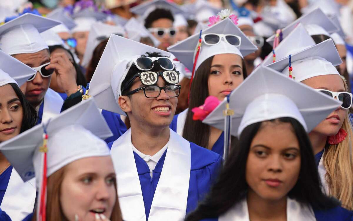 The Class of 2019 Brien McMahon High School Commencement Exercises Wednesday, June 12, 2019, in Norwalk, Conn.