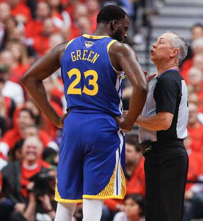 competitive price 6a43d 78c1b Warriors' Draymond Green is one outburst away from a ...
